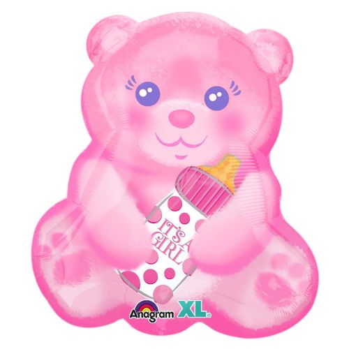 Baby Girl Bear with Bottle Jnr Shape
